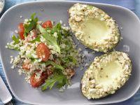 Tomaten-Bulgur mit Mandel-Avocado Rezept