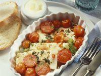 Tomaten-Feta-Auflauf Rezept