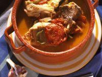 Tomaten-Fischeintopf Rezept