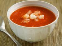 Tomaten-Kaltschale mit Hummer Rezept