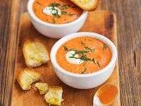 Tomaten-Mascarponesuppe Rezept