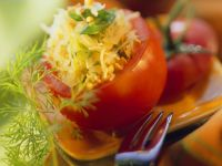 Tomaten mit Buchweizenfüllung Rezept