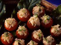 Tomaten mit Couscousfüllung Rezept