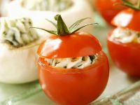 Tomaten mit Frischkäsefüllung Rezept