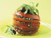 Tomaten mit Kräutersauce Rezept