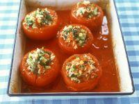 Tomaten mit Reisfüllung Rezept