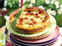 Tomaten-Mozzarella-Kuchen Rezept