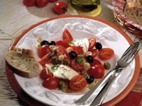 Tomaten-Mozzarellasalat Rezept
