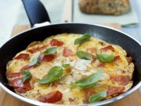 Tomaten-Omelett Rezept
