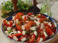 Tomaten-Schafskäsesalat Rezept