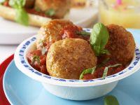 Tomatensauce mit Hackbällchen Rezept