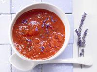 Tomatensuppe mit Lavendel Rezept