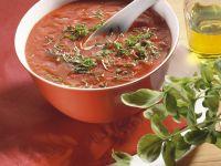 Tomatensuppe nach italienischer Art Rezept