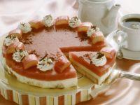 Torte mit Rhabarbercreme Rezept
