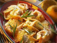 Tortellini in Zitronensoße mit Estragon Rezept