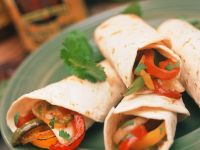 Tortillafüllung mit Paprikafüllung Rezept