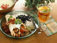 Tortillas mit Fleisch-Gemüsefüllung Rezept