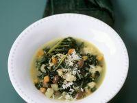 Toskanische Bohnensuppe mit Schwarzkohl Rezept