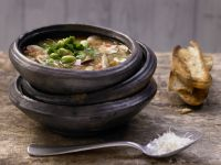 Toskanische Pilzsuppe Rezept