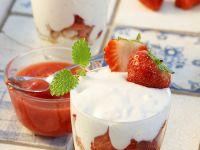 Trifle mit Mascarpone und Erdbeeren