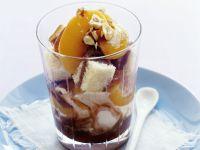 Trifle mit Pfirsich Rezept