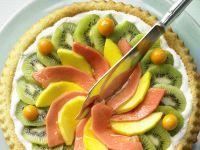 Tropischer Obstkuchen Rezept
