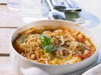 Überbackene Bohnensuppe Rezept