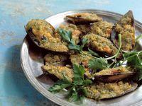 Überbackene Muscheln (Cozze gratinate) Rezept