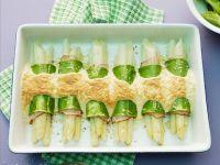 Überbackene Spargel-Cannelloni Rezept