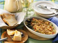 Überbackene Spargel-Pfannkuchen Rezept