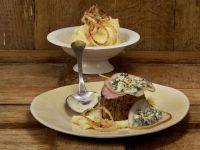 Überbackenes Kalbsfilet mit Birnen-Kartoffel-Püree Rezept