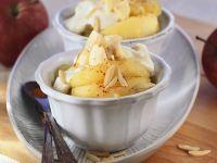 Vanill-Mascarpone mit Äpfeln Rezept