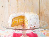 Vanille-Mangotorte mit Baiser Rezept