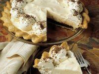 Vanille-Schoko-Pie mit Sahne