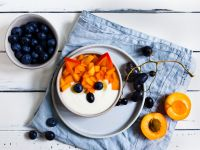 Vanillejoghurt mit Aprikosen Rezept