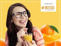 Öfter mal ein Glas Orangensaft!