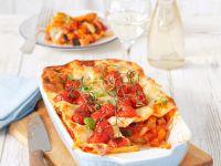 Vegane Lasagne mit Cherrytomaten Rezept