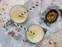 Vegane Pistazien-Mandelmilch Rezept