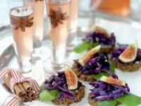 Vegane Rotkohl-Brothäppchen Rezept