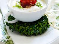 Vegane Topinamburcremesuppe Rezept