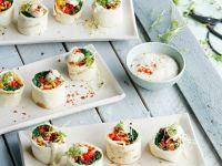 Vegane Wrap-Röllchen Rezept