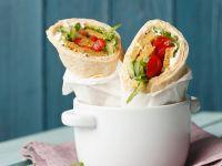 Vegane Wraps mit Lupinenfleisch Rezept