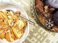 Veganer Hirsebrei mit Erdnussmus Rezept