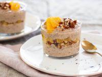Veganes Vanillekipferl-Dessert mit Orange Rezept