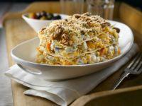 Vegetarische Lasagne mit Walnüssen Rezept