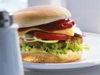 Vegetarischer Cheeseburger Rezept