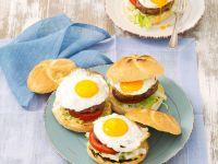 Vegi-Burger mit Bohnenbratling Rezept