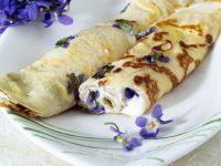Veilchen-Pfannkuchen Rezept