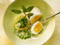 Verlorene Eier Clamart Rezept