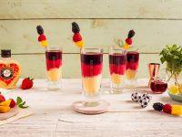 VERPOORTEN Länder-Cocktail Deutschland 'Schwarz Rot Gold' Rezept
